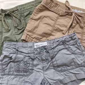 Aeropostale and old navy shorts